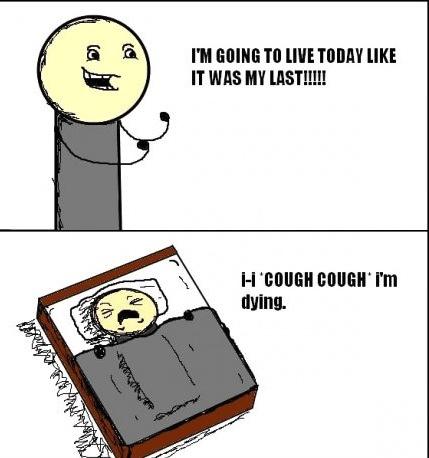 last day, comic, lol, dying