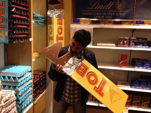 toblerone, giant, win