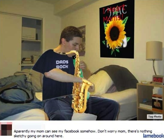 facebook, photoshop, win, fail, bong, saxophone, sunflower, poster, lol