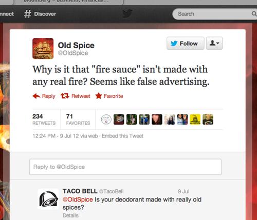 twitter, troll, fire sauce, old spice