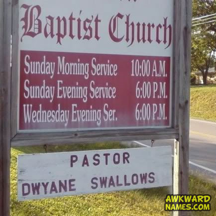sign, church, fail, swallows