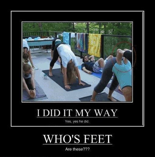 yoga, feet, wtf, motivation