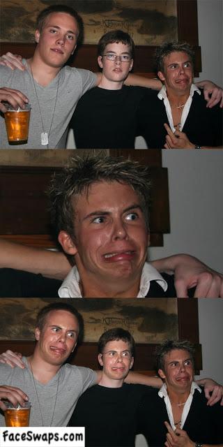 face swap, photoshop