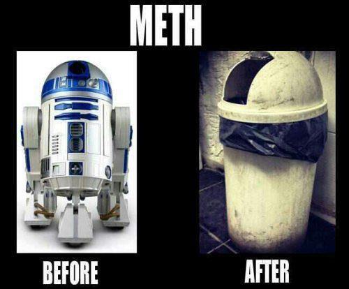 meme, r2d2, star wars, meth