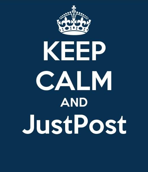 keep calm and justpost, meme