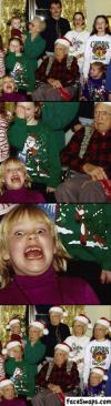 face swap, photoshop, lol, family, christmas