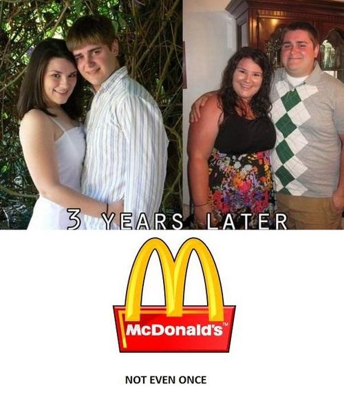 mcdonalds, meth, not even once