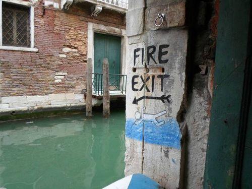 fire exit, ghetto