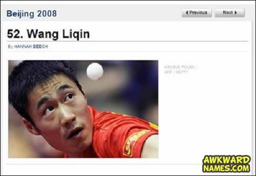 name, suggestive, ping pong, awkward