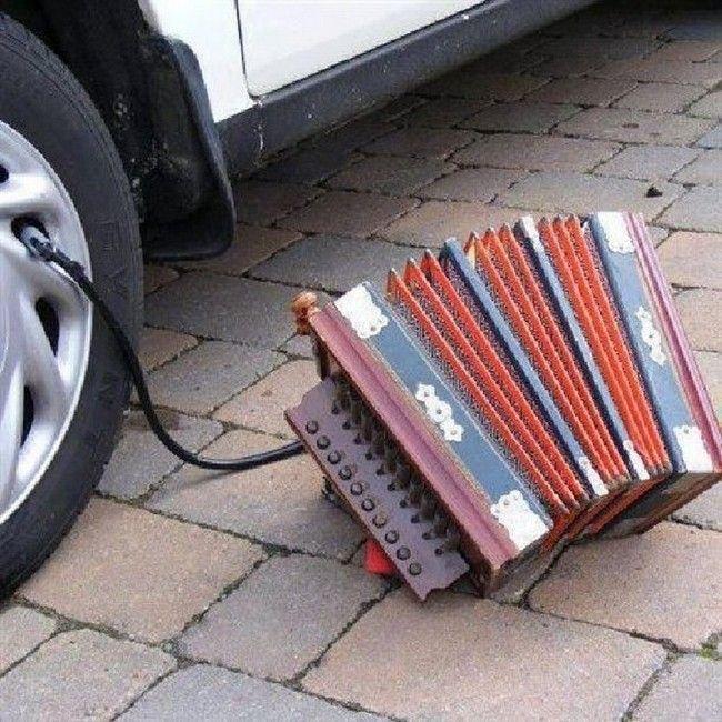 pump, accordion, fail