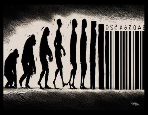 evolution, bar code, humabs, product