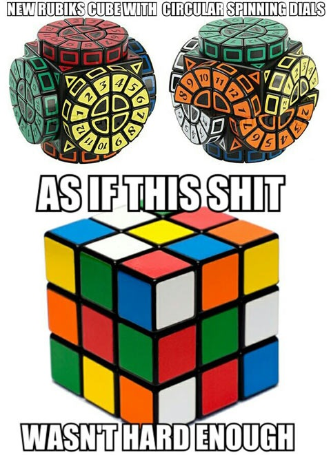 rubix cube, new, hard