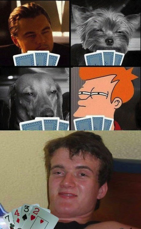 stoner guy, cards, poker