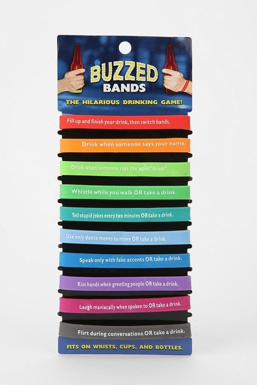buzzed bands the hilarious drinking game, product