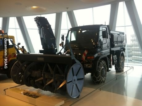 snow blower, machine, blades, beast