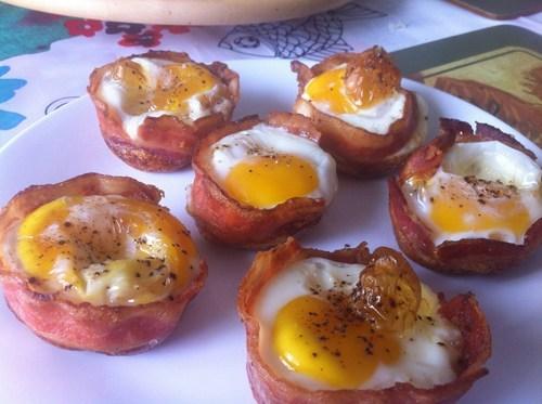bacon, egg, breakfast, win