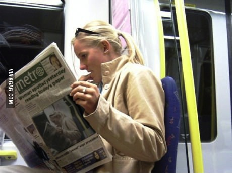 metro, newspaper, time travel