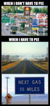 meme, road trip, pee