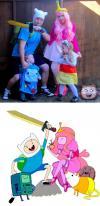 adventure time, parenting, costume