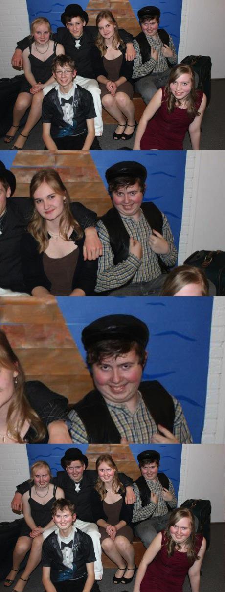 photobomb, photoshop, face swap