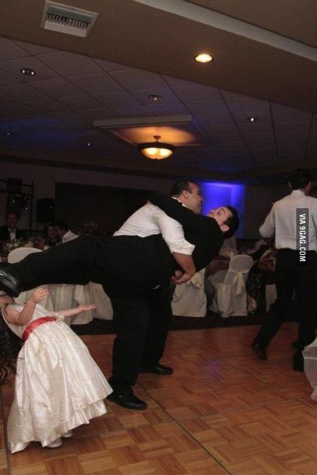 timing, wedding, kick, dance