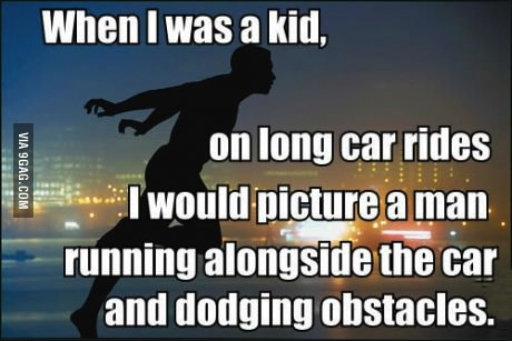 story, kid, driving, dodge, obstacles