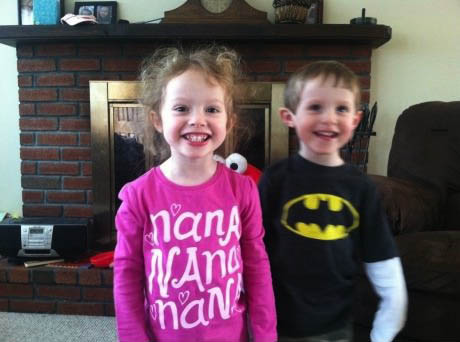 batman, tshirt, kids, nanana