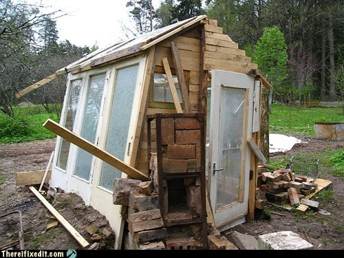 shed, fail, build, engineer