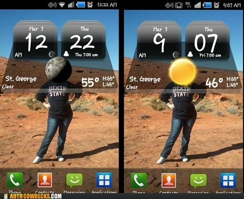 phone, background, wallpaper, weather, perspective