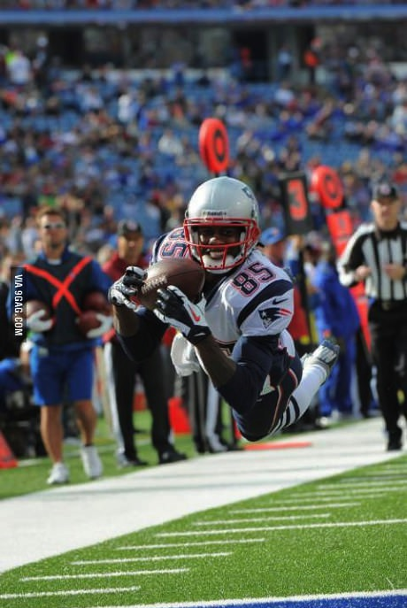 ridiculously photogenic receiver, football, touchdown