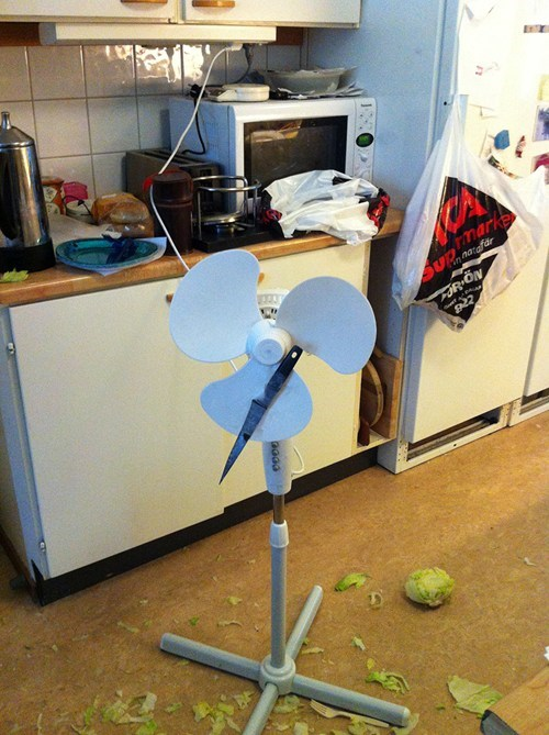 the lettuce chopper I bought on eBay hasn't been working well lately