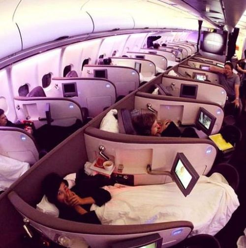 airplane, win, beds