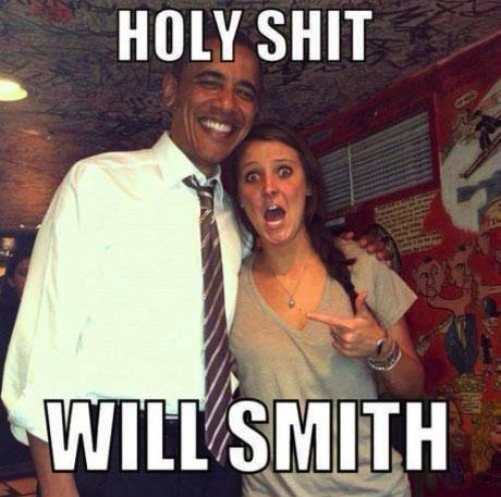 holy shit will smith, barrack obama, meme