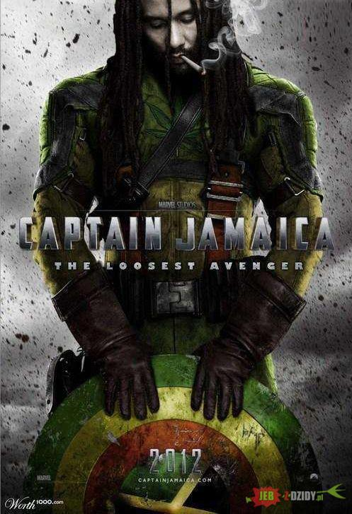 captain jamaica, movie poster