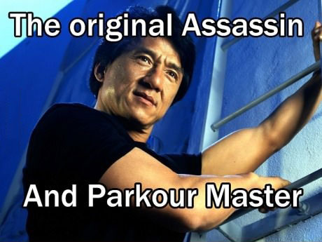 assassin, parkour, master, jackie chan