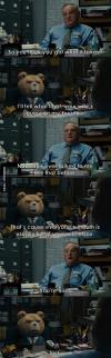 ted, job, interview, insult, lol, comic