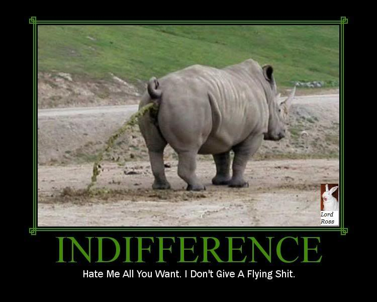 rhino, motivation, indifference, shit, disgusting