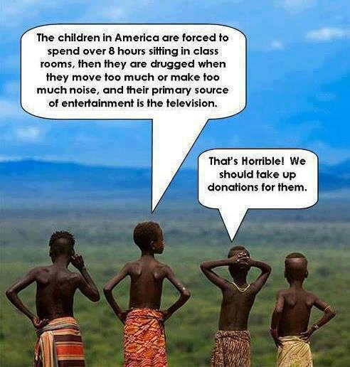 america, africa, donations
