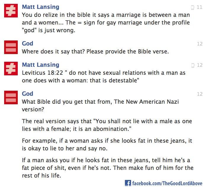 god, gay marriage, bible