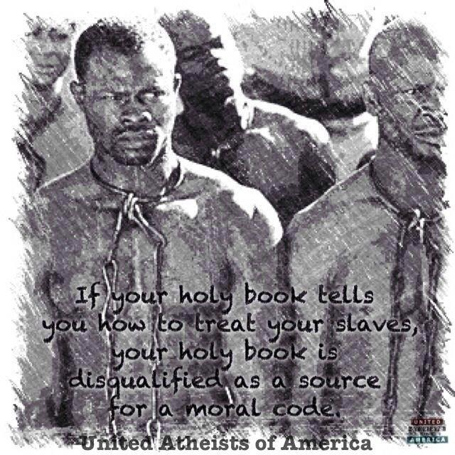 holy book, bible, slaves, moral