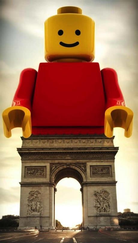 lego, arc de triomph