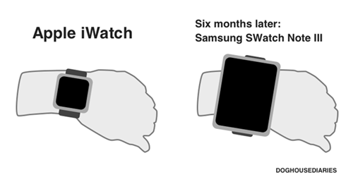 apple, samsung, watch, huge
