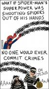 spiderman, crimes, spiders