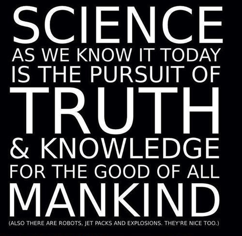 science, truth, fact, knowledge