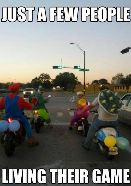 mario kart, in real life, meme, video game