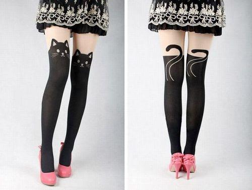 leggings, pussy cat, stockings, product