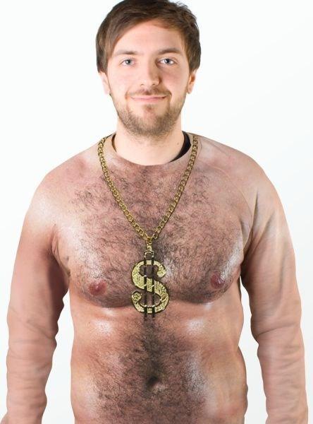 shirt, fail, chest, fat, gold chain, wtf