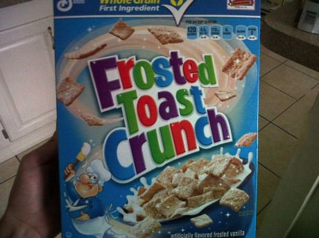 frosted toast crunch, cereal, mashup
