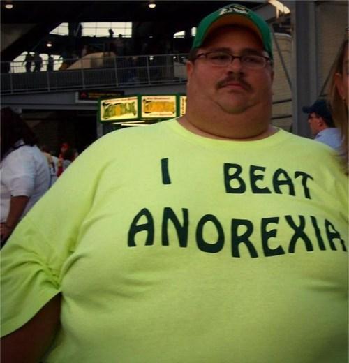tshirt, fat, anorexia