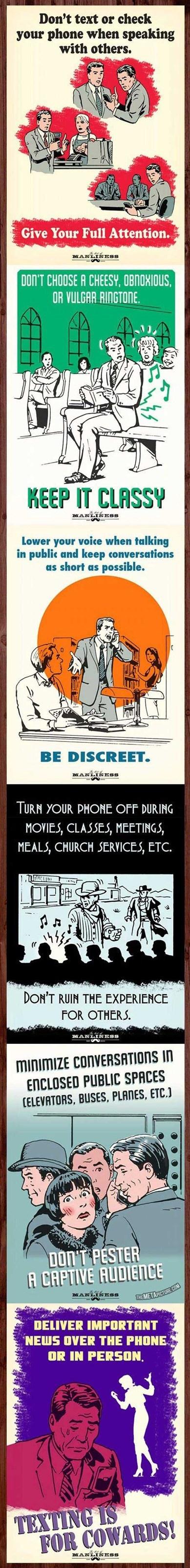 public service announcement, text, phone, social
